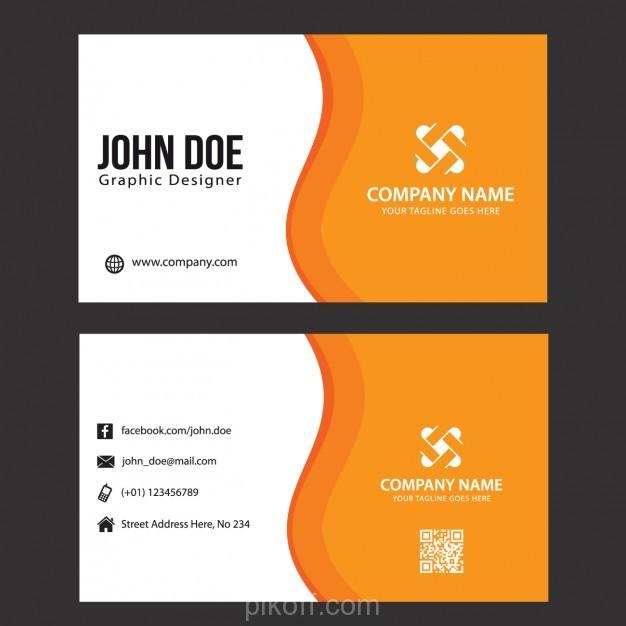 free download vector design name card