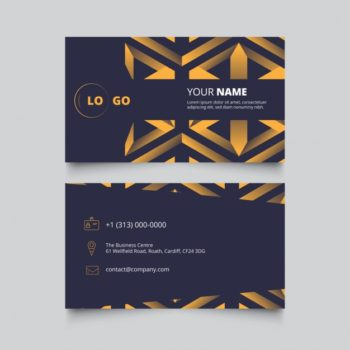 Business card design free download pikdone ai business card design vector free download reheart Image collections