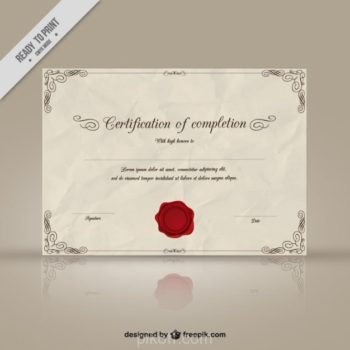Certificate template vector free download images template design ideas ai certificate template eczalinf ai certificate template maxwellsz yadclub Image collections