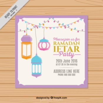 Ramadan design free download page 2 of 4 pikdone ai hand drawn cute ramadan iftar invitation vector free download stopboris Images