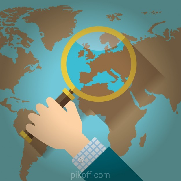 Ai loupe over a world map flat design vector free download pikdone ai loupe over a world map flat design vector free download gumiabroncs Choice Image