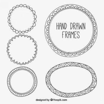 Round frame design free download - Pikdone