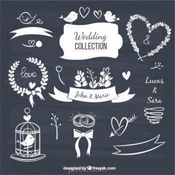 Drawn design free download page 14 of 14 pikdone ai wedding decorative elements in blackboard style vector free download junglespirit Images