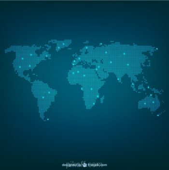 Download free map resources pikdone ai world map made of dots vector free download gumiabroncs Image collections